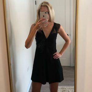 BCBGeneration Dresses - Black BCBGeneration Lace Mini Cocktail Dress